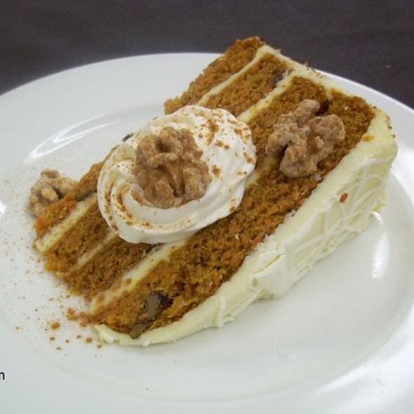 Carrot Cake - Lakeview Bistro at The Westin Bonaventure Hotel, Los Angeles, CA
