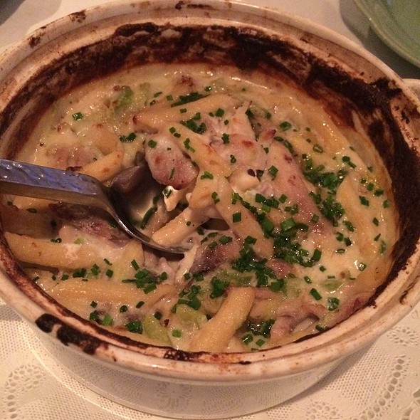 Duck Confit Macaroni & Cheese - Jean-Robert's Table, Cincinnati, OH