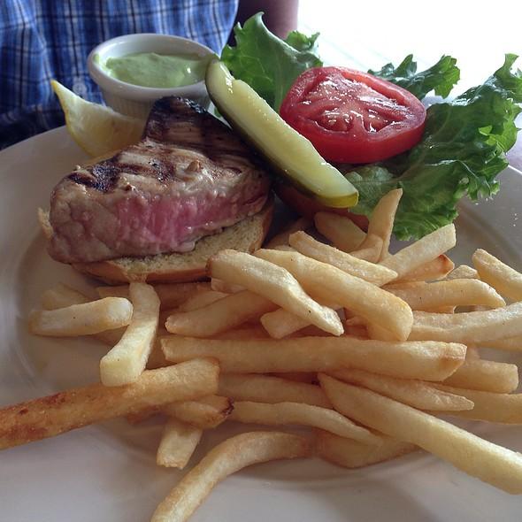 Grilled Yellowfin Tuna Sandwich - Carrol's Creek Cafe, Annapolis, MD