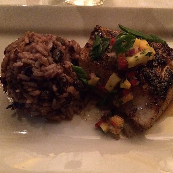 Cobia With Serrano Mango Salsa - Mitchell's Fish Market - Rochester, Rochester Hills, MI