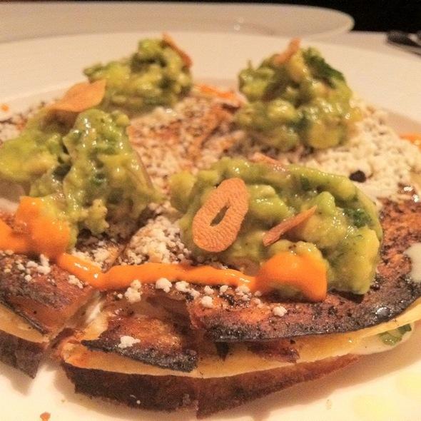 Black Bean And Chicken Quesadilla @ Mesa Grill