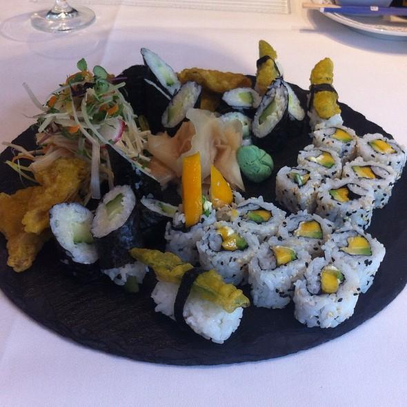 Sushi Vegan Style @ Rotonda Restaurant