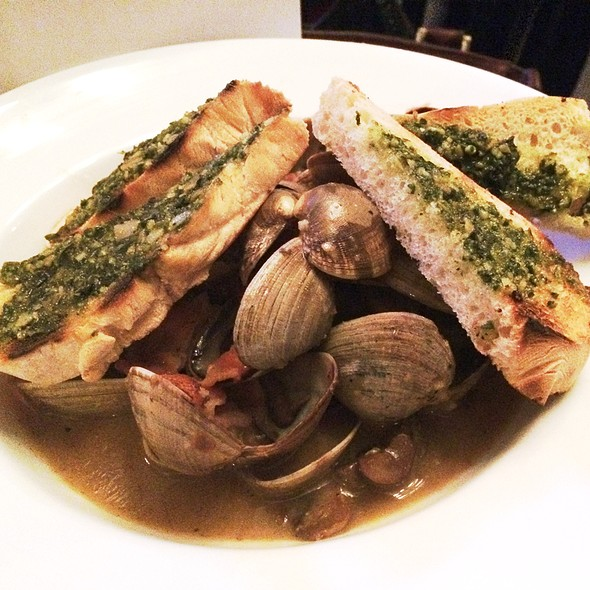 Clams With Bacon @ Caffe Opera