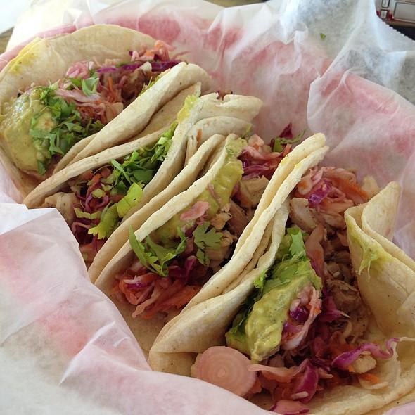 Asian Chicken Street Tacos @ The Power Bar
