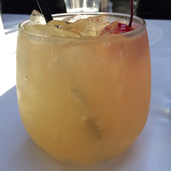 White Wine Sangria - Currant American Brasserie, San Diego, CA