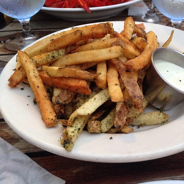 Furikaki Garlic Fries - Blue Dragon Restaurant, Kamuela, HI