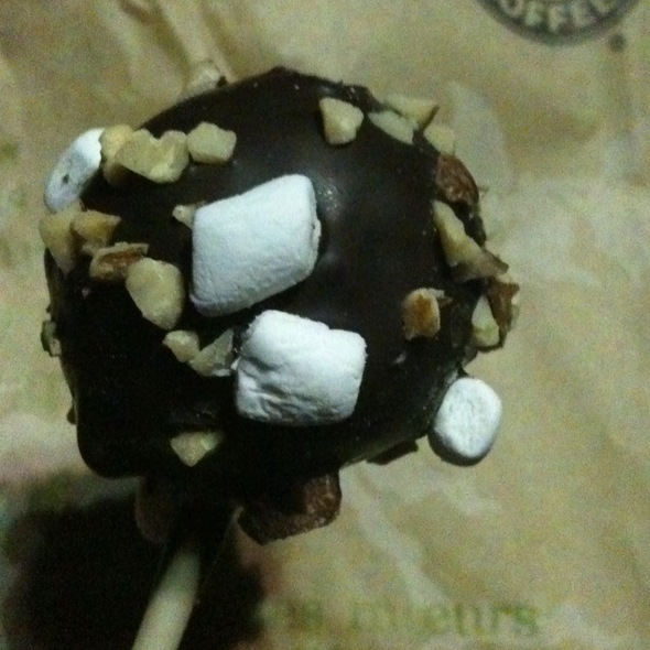 Rocky Road Cake Pop @ Starbucks Coffee Co