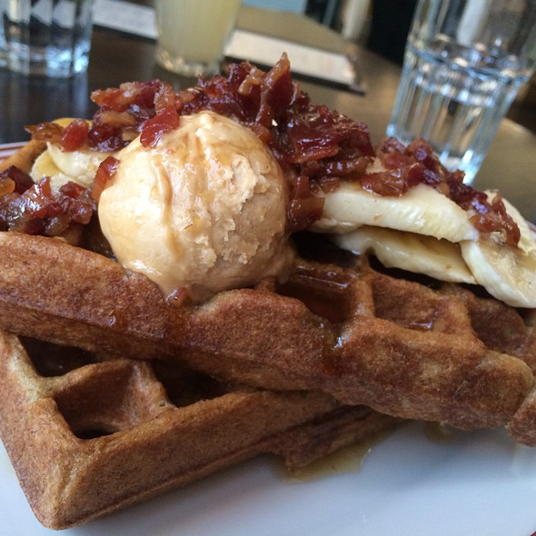 Fat Elvis Waffles @ Little Goat