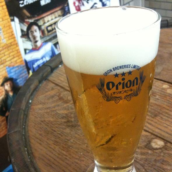 オリオンビール @ 横濱Cheers