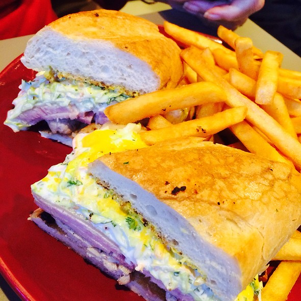 Cuban Sandwich @ Christine's Cuisine