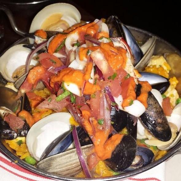 Seafood Paella - AG Kitchen, New York, NY