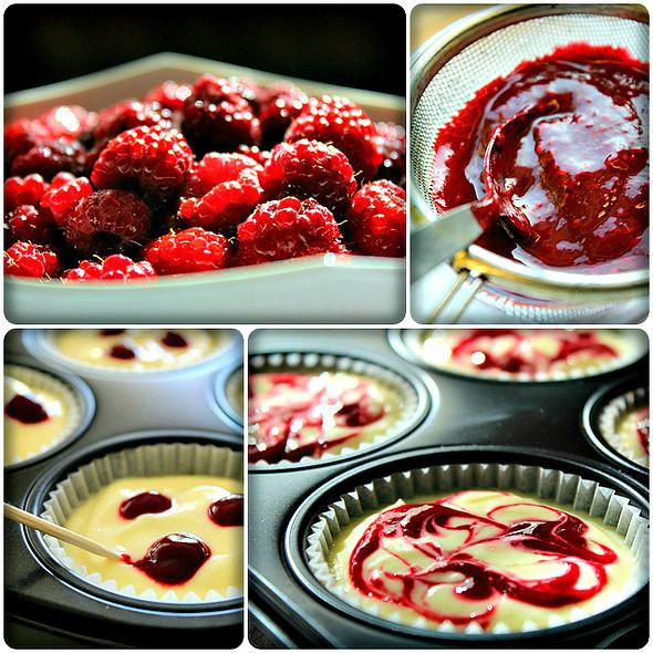 Making the Raspberry Coulis @ Maya's Kitchen