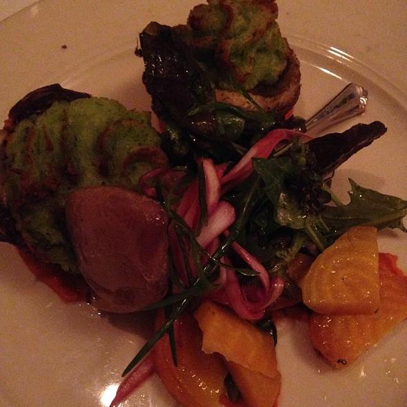 Baked artichokes - Four Square Restaurant, Durham, NC