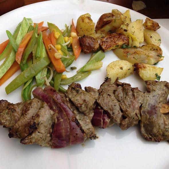 saslik kebab @ Gunaydin Steak House