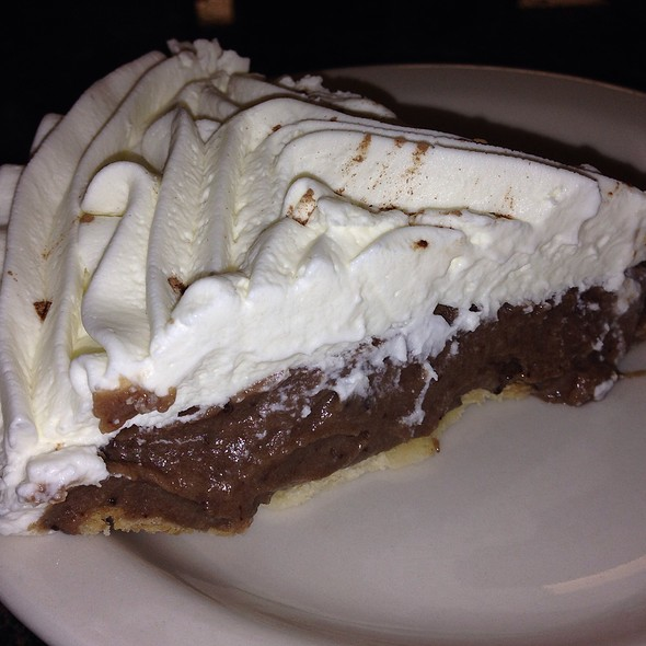 Chocolate Cream Pie @ Blue Bonnet Cafe Inc