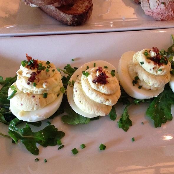 Truffled Deviled Eggs @ Salty Sow