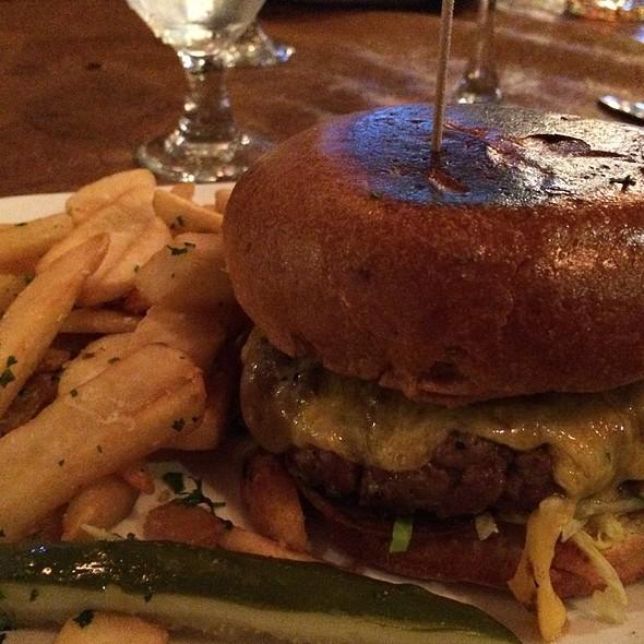 Western Steak Burger - The Gambling Cowboy Chophouse and Saloon, Temecula, CA