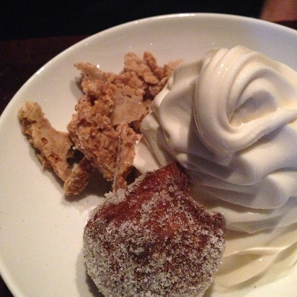 Vanilla Soft Serve With Ricotta Donut - Zero Zero, San Francisco, CA
