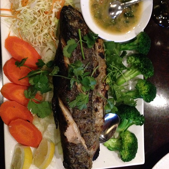 Grilled Trout @ Thaibodia