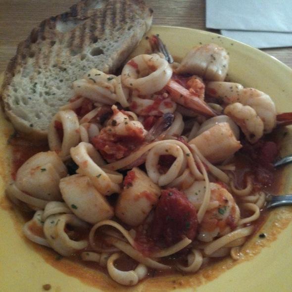 Seafood Pasta @ Mango's Bar & Grille