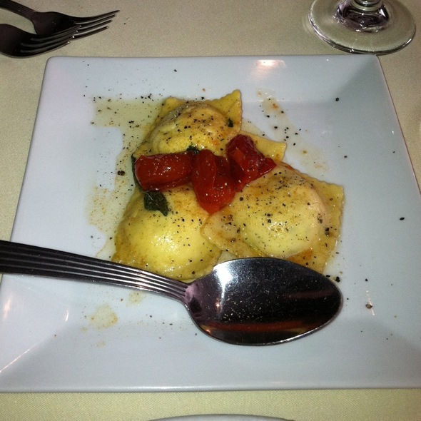 Goat Cheese Ravioli With Tomato Jam - Augusto's, Warminster, PA