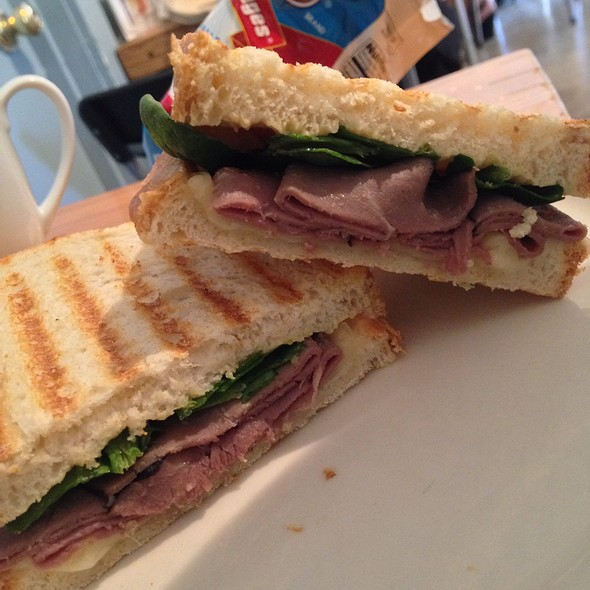The Texan Sandwich - Squeeze Marfa, Marfa, TX