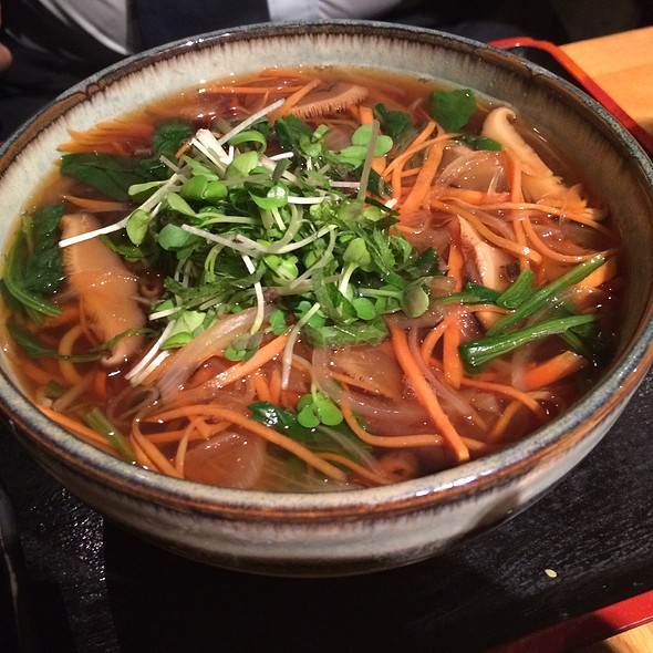 Vegetable Hot Soba