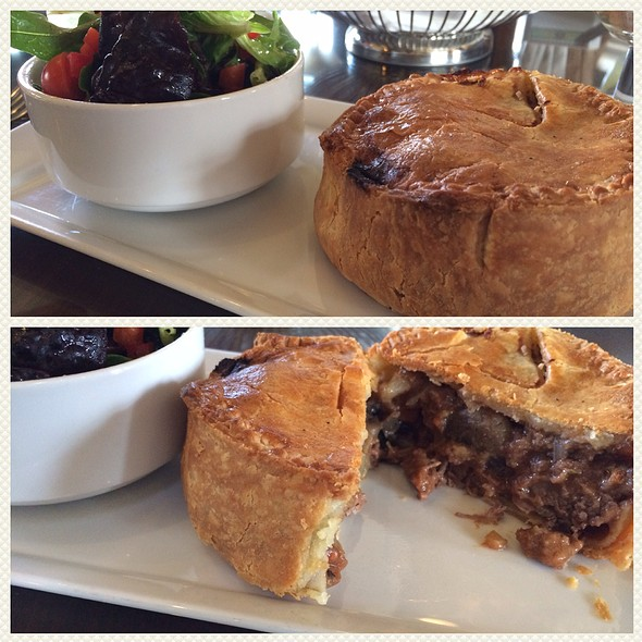 Steak and Mushroom Pie - The Bengal Lounge - The Fairmont Empress Hotel, Victoria, BC