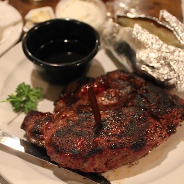 Ribeye Steak @ Charcoal Pit II