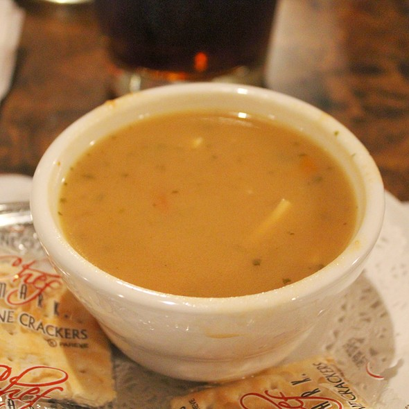 Chicken Noodle Soup @ Charcoal Pit II