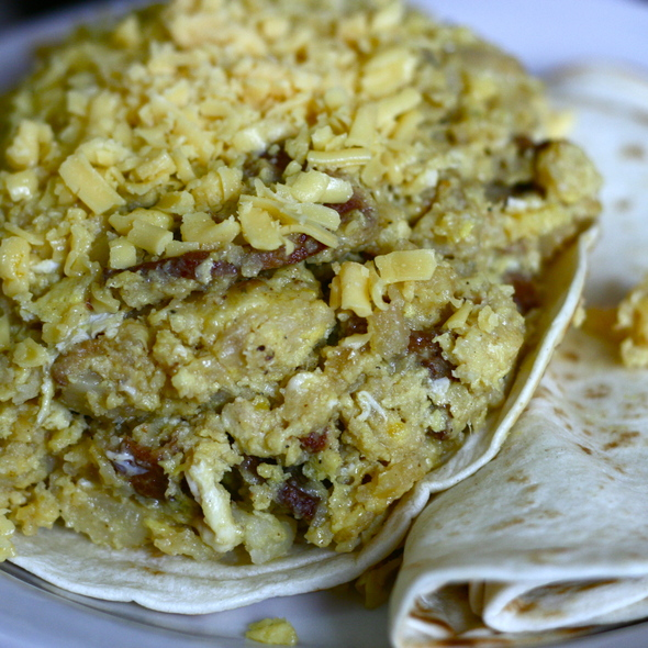 Don Juan Breakfast Taco