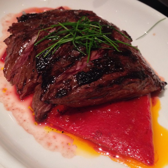 Grilled Skirt Steak With Piquillo Pepper Confit