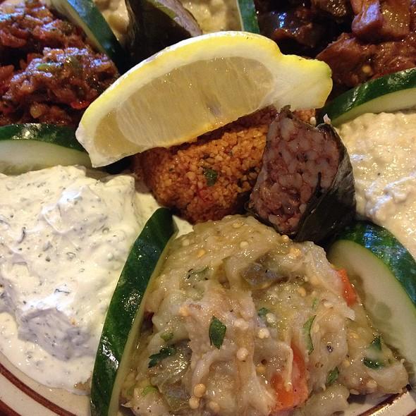 Mixed Turkish Platter @ Istanbul Turkish Cuisine