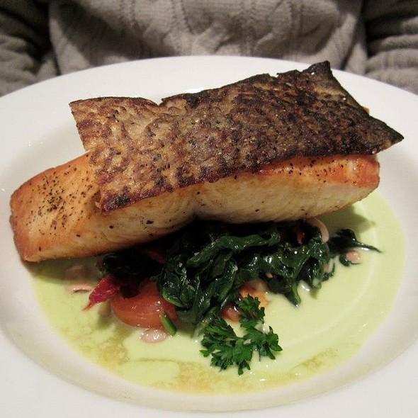 Crispy Skin Salmon Fillet - Nammos Estiatorio, Southampton, NY