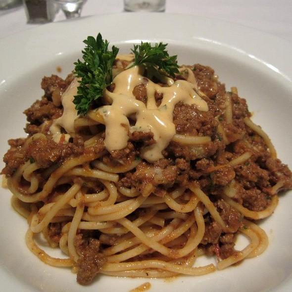 Greek Spaghetti - Nammos Estiatorio, Southampton, NY