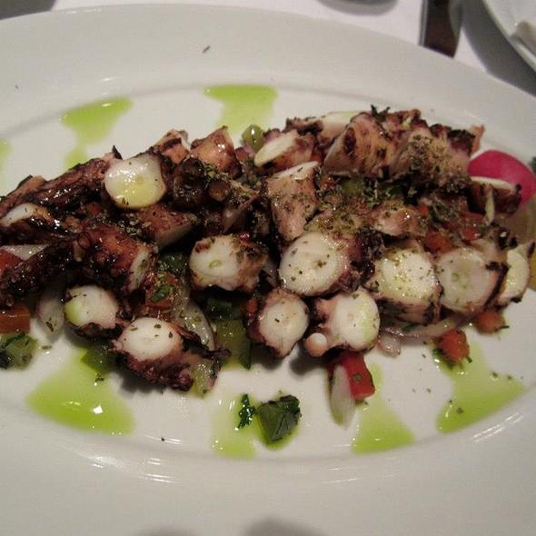 Octapodi - grilled octopus. - Nammos Estiatorio, Southampton, NY