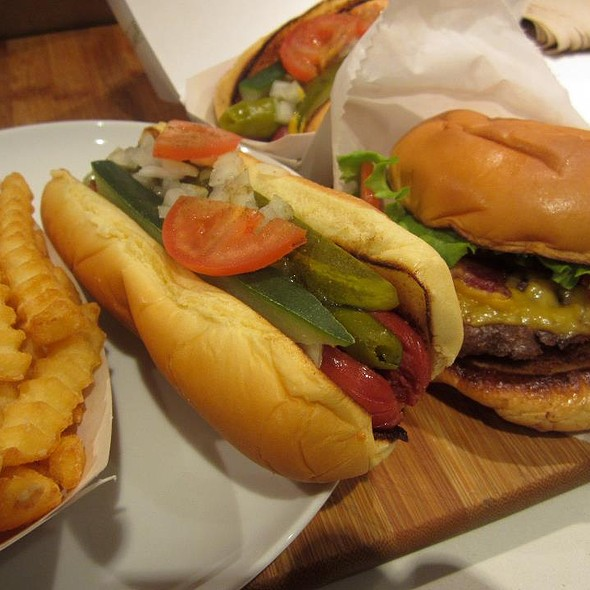 Chicago Dog & Cheese Burgers