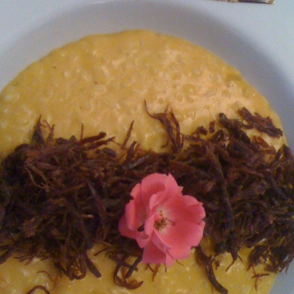 Risoto De Abóbora Com Carne Seca @ Risoteria Sorriso
