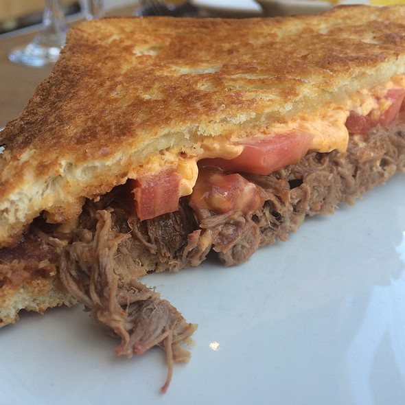 Grilled Cheese With Ropa Vieja @ Bread + Butter