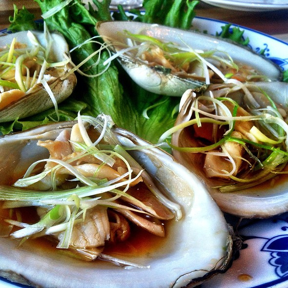 Steamed Surf Clams @ Great China