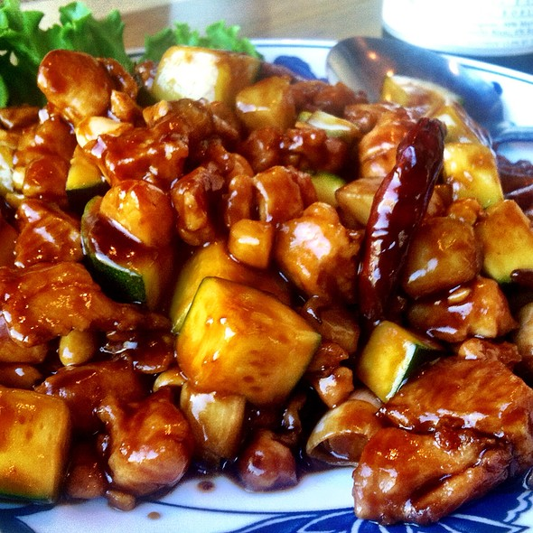 Kung Pao Chicken @ Great China