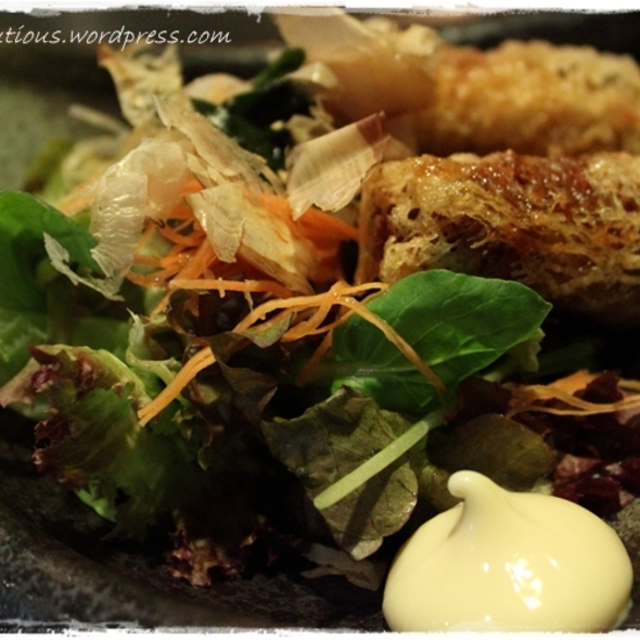 Wafu salad with Kaisen Haruaki @ Shou Sumiyaki
