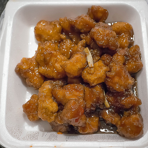 Orange Chicken @ The Mandalay