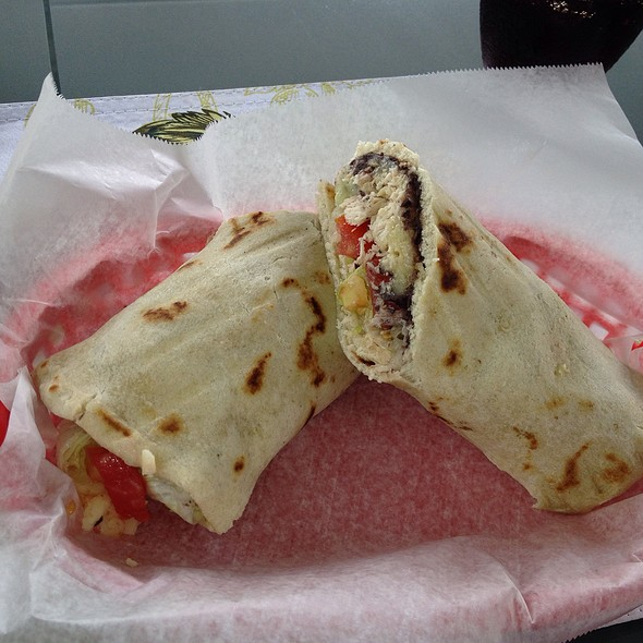 Monster Burrito @ The Coconut Cafe