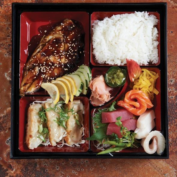 Ninja Bento Box @ FIn Japanese Cuisine
