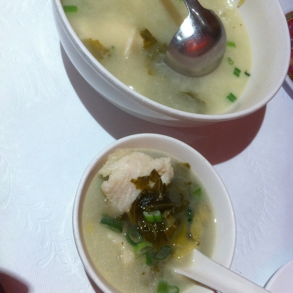 Sliced Fish With Sour Cabbage Soup @ Hunan Kitchen of Grand Sichuan