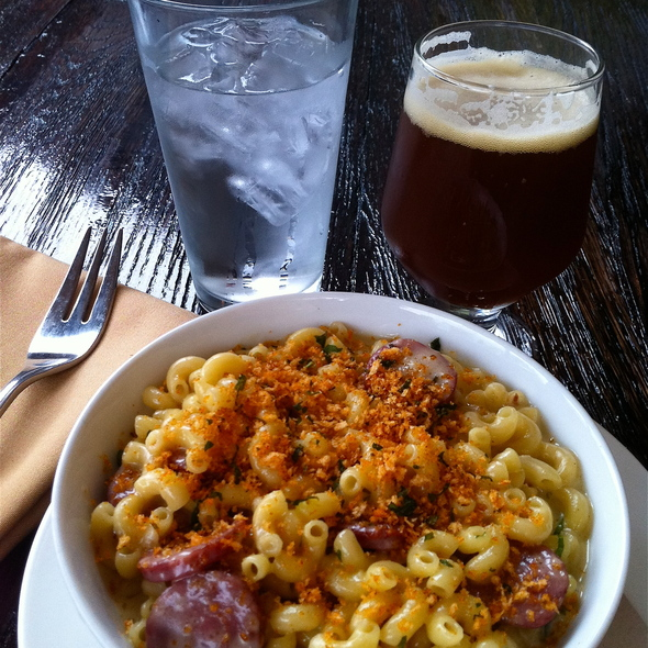 Mac N' Beer Cheese @ Stone Brewing Co.