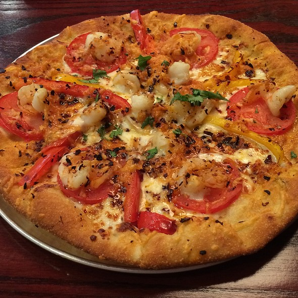 Spicy Shrimp Pizza @ Newks