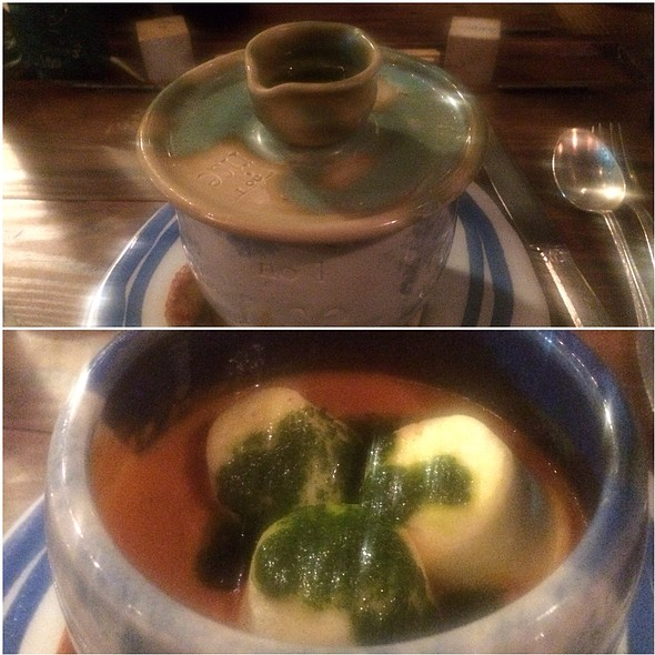 """marshmallow"" soup is a must-have at Rise. @ Rise No. 1"