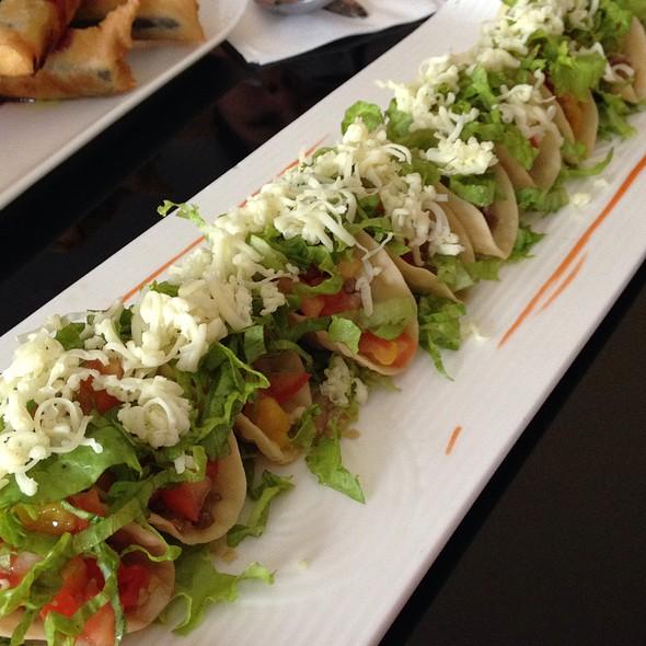 Mini Sisig Tacos @ Pino RestoBar